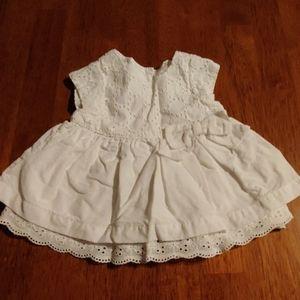 Cherokee girls newborn dress NB